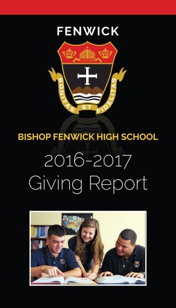 Giving Report 16 17