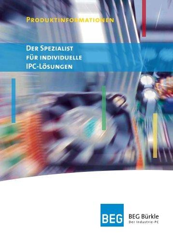 Boxline NanoBox - BEG Bürkle  Industrie PC