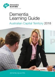 Dementia Learning Guide - ACT