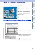 Sony HDR-AS30 - HDR-AS30 Guide pratique Anglais - Page 2