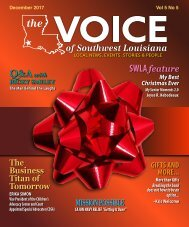 The Voice of Southwest Louisiana December 2017 Issue