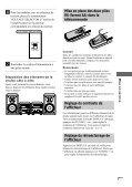Sony CMT-SP55MD - CMT-SP55MD Consignes d'utilisation Espagnol - Page 7