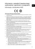 Sony SVE1111M1R - SVE1111M1R Documents de garantie Polonais - Page 5