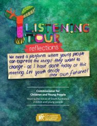 Listening Tour Reflections 2017