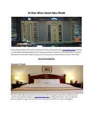 Al Diar Mina Hotel Abu Dhabi