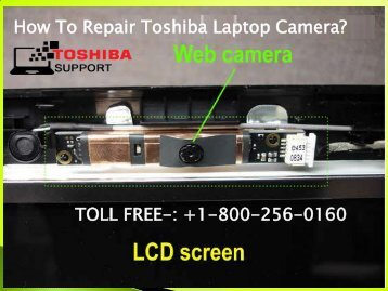 Toshiba Laptop Camera Repair Service