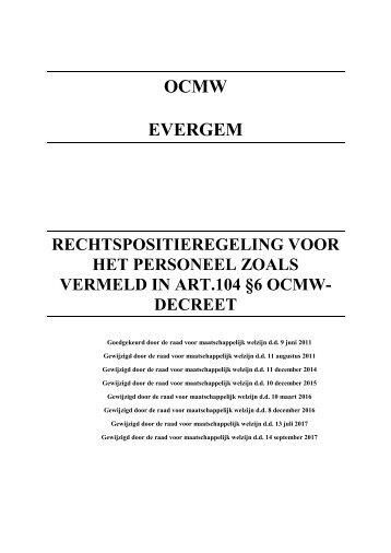 RPR OCMW Evergem