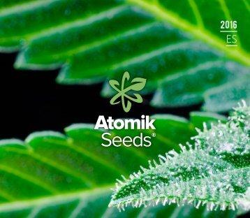 Atomik Seeds se especializa en semillas Auto y feminizadas, enfocándose en sabores y aromas fuertes y únicos