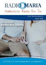 Radio Maria Schweiz - Januar 2018