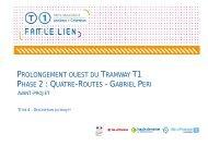 tramway projet