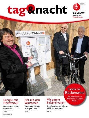 """Kundenzeitschrift """"tag & nacht"""" - BELKAW Bergische Licht-, Kraft"""