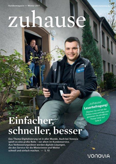 "Vonovia Kundenmagazin ""zuhause"" Winter 2017"