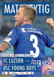 FC LUZERN MATCHZYTIG N°10 1718 (RSL 19)