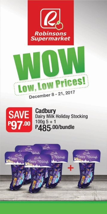 ROBINSONS SUPERMARKET CATALOG expires December 21, 2017