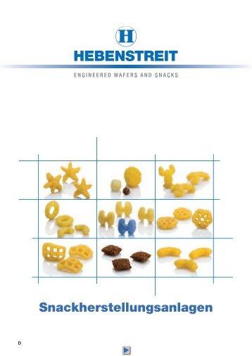 Snackherstellungsanlagen _pdf von Hebenstreit