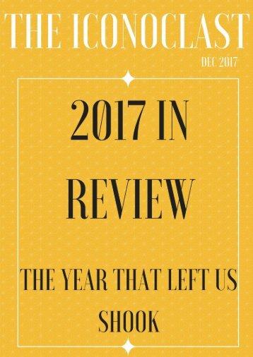 The Iconoclast DEC 2017