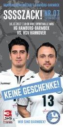 SSSSZACK! HGHB vs. HSV Hannover