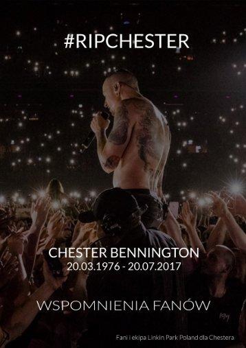 #RIP Chester - Wspomnienia fanów - Linkin Park Poland