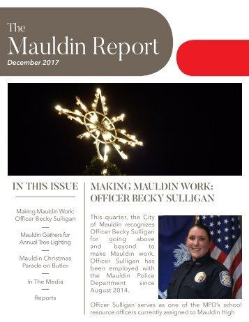 December 2017 Mauldin Report