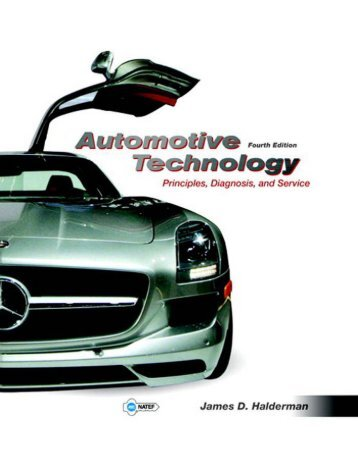 Automotive Technology - Prins, Diag. and Svc 4th ed