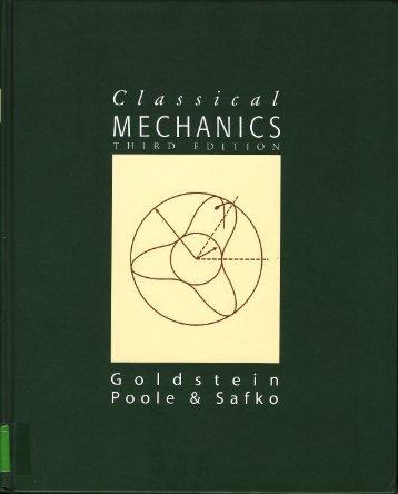 Classical Mechanics - 3rd ed