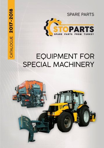 Equipment for special machinery from stoparts.com