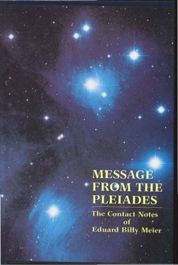 Message from the Pleiades
