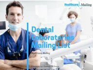 Dental Laboratories Mailing List