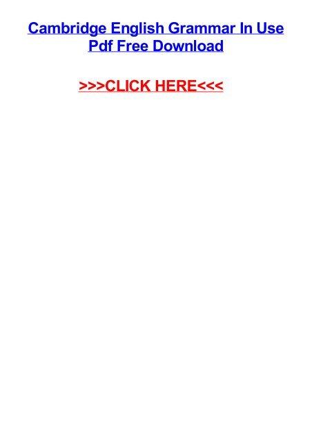 english grammar pdf free download
