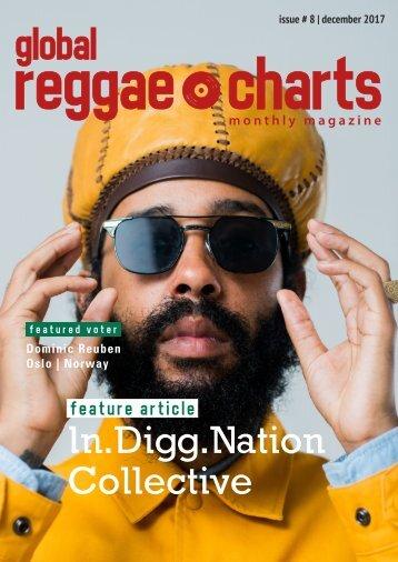 Global Reggae Charts - Issue #8 / December 2017