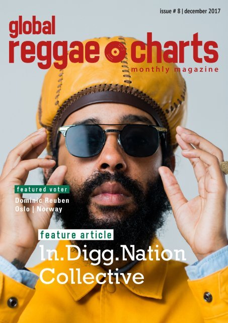 Global Reggae Charts - Issue #8 / December 2017