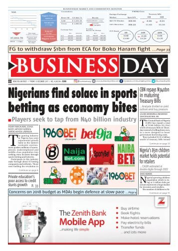 BusinessDay 15 Dec 2017