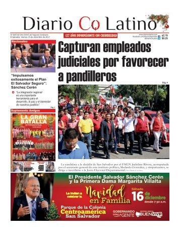 Edicion 15 de dicembre de 2017
