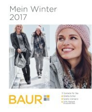 Каталог Baur Mein Winter зима 2017/2018. Заказ одежды на www.catalogi.ru или по тел. +74955404949