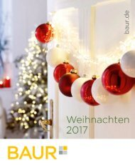 Каталог Baur Weihnahten зима 2017/2018. Заказ товаров на www.catalogi.ru или по тел. +74955404949