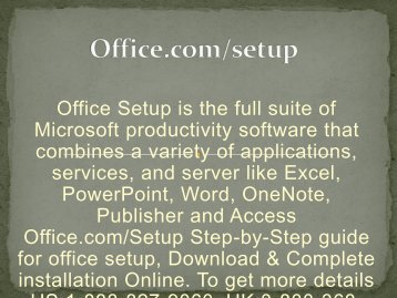 Office.com/setup | Office Setup | Office Product Key