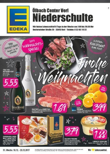 EDEKA Niederschulte Dezember 2017