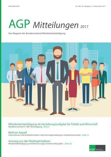 AGP Mitteilungen 2017