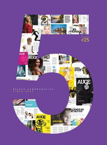 REVISTA AUGE - EDIÇÃO 25 - ESPECIAL DE 5 ANOS