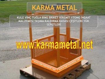 KARMA METAL-kule vinc yuk tasima sepeti imalati cesitleri fiyati