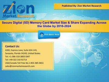 Global Secure Digital (SD) Memory Card Market, 2016-2024