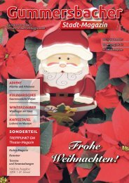 Gummersbacher Stadtmagazin Dezember 2017