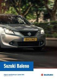 Suzuki Prijslijst Suzuki Baleno