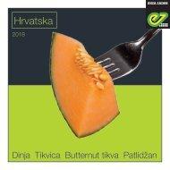 Brochure melon Croatia 2018
