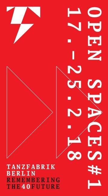 OPEN SPACES#1 (17.-25.2.18)
