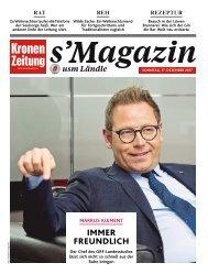 s'Magazin usm Ländle, 17. Dezember 2017