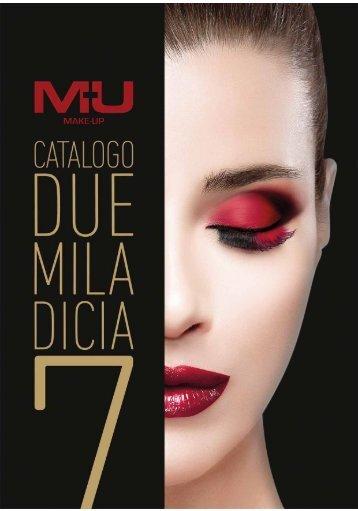 catalogo MU make-up