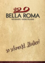 Speisekarte Balla Roma