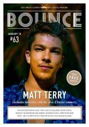 Bounce Magazine January 2018 Edition