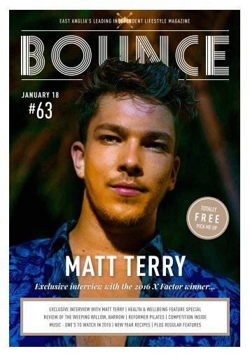 Bounce Magazine January 2018 Edition